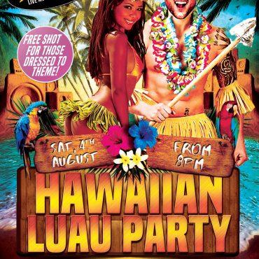 Hawaiian Luau Night August 4th!