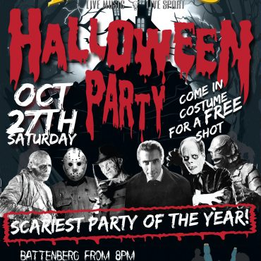 Halloween Oct 27th at Hero's