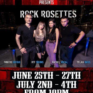 Rock Rosettes Rock Hero's!