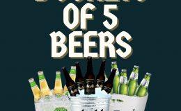 Beer Buckets Promo